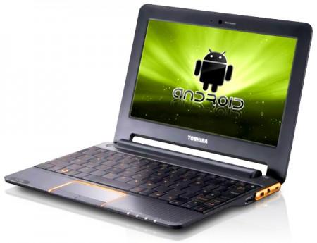Toshiba AC 100 laptop