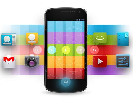 Android alkalmazások mobiltelefonra