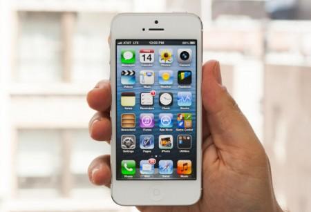 iPhone 5 mobiltelefon