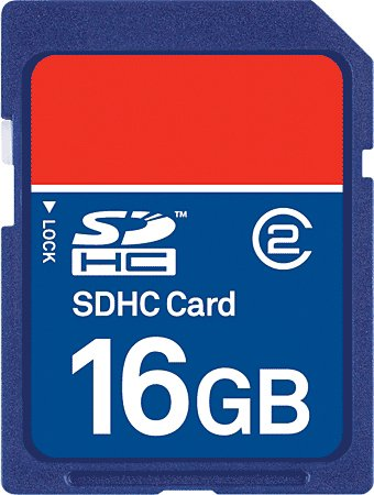 16 GB-os SD memóriakárty